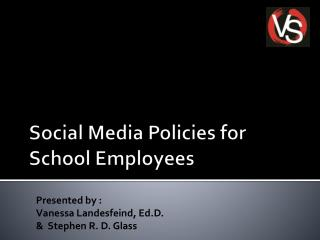 Social Media Policies for School Employees