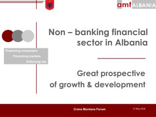 Non   banking financial sector in Albania