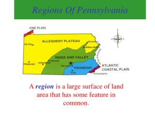 Regions Of Pennsylvania