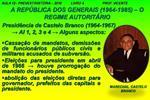 A REP BLICA DOS GENERAIS 1964-1985   O REGIME AUTORIT RIO