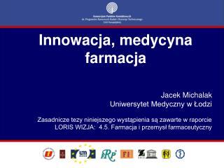 Innowacja, medycyna farmacja