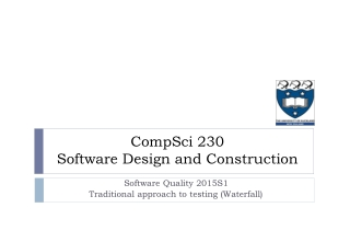 UNIT-19 RELIABILITY MODELS FOR SOFTWARE QUALITY