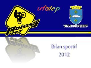 Bilan sportif  2012