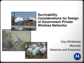 Survivability Considerations for Design of Government Private Wireless Networks