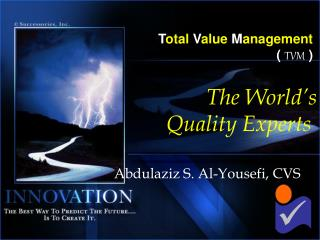 Total Value Management   TVM