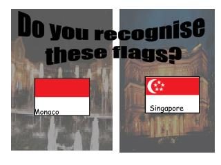 Monaco Singapore Do you recognise