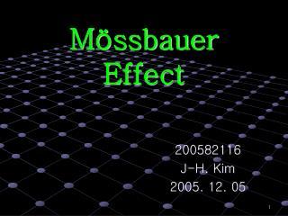 M ssbauer Effect