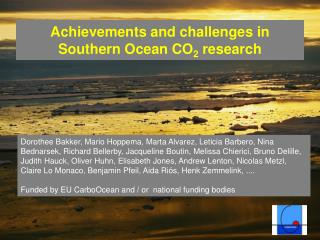 Achievements and challenges in Southern Ocean CO2 research