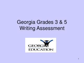 Georgia Grades 3  5 Writing Assessment