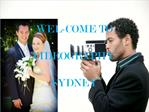 Rivergod Weddings and Corporate Video Production at Sydney