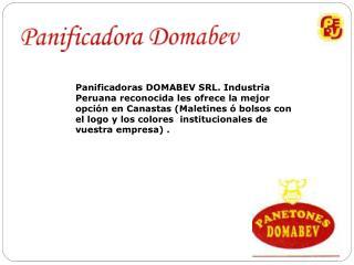 Panificadoras DOMABEV SRL. Industria Peruana reconocida les ofrece la mejor opci n en Canastas Maletines   bolsos con el