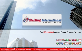 Sterling International Consulting FZE - ISO Consultant
