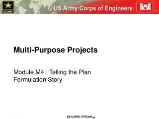 Multi-Purpose Projects