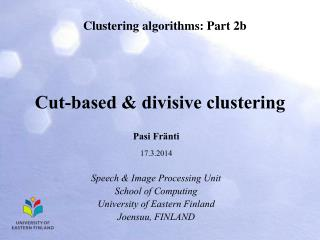 Divisive algorithms