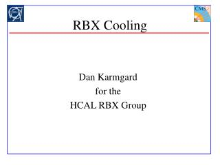 RBX Cooling