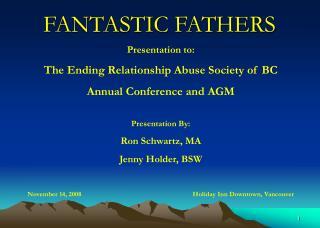 FANTASTIC FATHERS