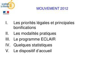MOUVEMENT 2012