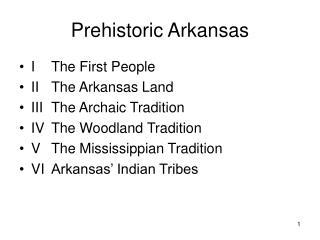Prehistoric Arkansas