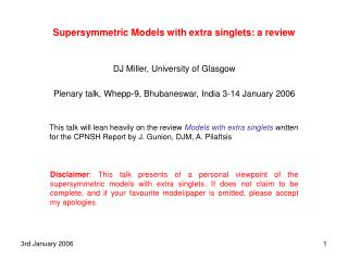 Supersymmetric Models with extra singlets: a review