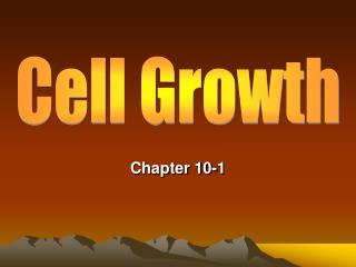 Limits to Cell Growth  Demands on cell s DNA becomes too much for cells and they get bigger.  Demands on movement of nut