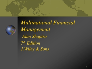 CHAPTER 17 Multinational Financial Management
