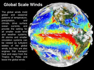 Global Scale Winds