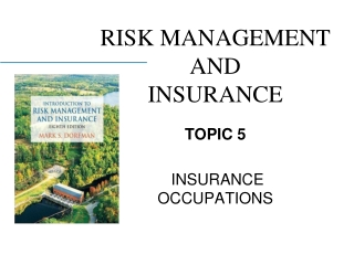 Chapter 9: Basic Property and Liability Insurance Contracts