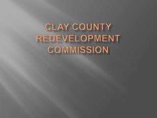 Clay County Redevelopment Commission