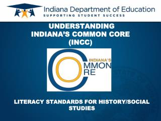 UNDERSTANDING                      INDIANA S COMMON CORE INCC