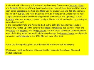 Socrates  Plato