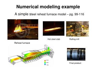 Numerical modeling example