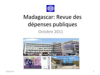 Madagascar: Revue des d penses publiques