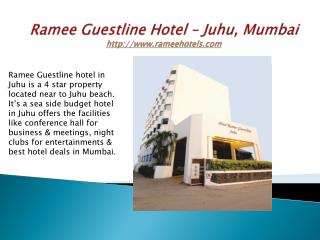 4 Star Budget Hotels In Juhu Mumbai