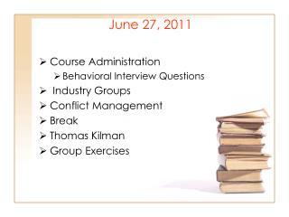 June 27, 2011