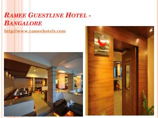 Budget 4 Star Hotels In Bangalore