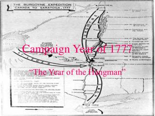Campaign Year of 1777