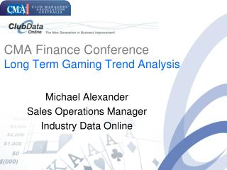 Michael Alexander Sales Operations Manager Industry Data Online