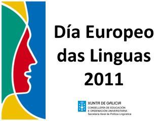 D a Europeo das Linguas 2011