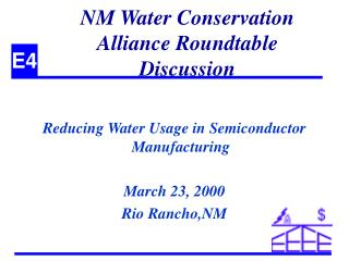 NM Water Conservation Alliance Roundtable Discussion