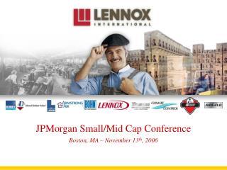 JPMorgan Small