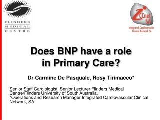 Does BNP have a role  in Primary Care