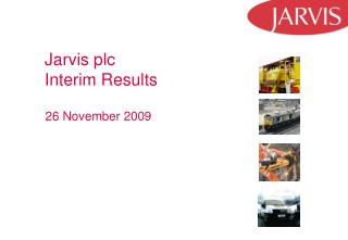 Jarvis plc Interim Results