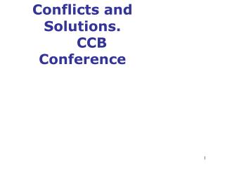 Oil Transfer on the Baltic Sea    Conflicts and Solutions.      CCB Conference 2004,     22 22 May 2004, Nelij rve, 22 M