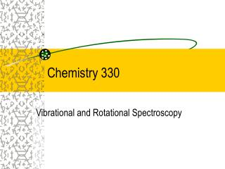Chemistry 330