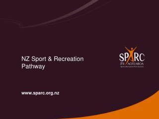 NZ Sport  Recreation Pathway