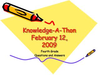 Knowledge-A-Thon February 12, 2009