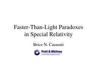 Faster-Than-Light Paradoxes in Special Relativity