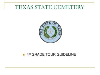 TEXAS STATE CEMETERY