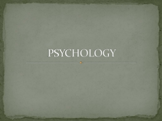 Psychology is commonly defined as: