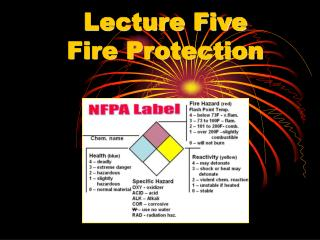 Lecture Five Fire Protection